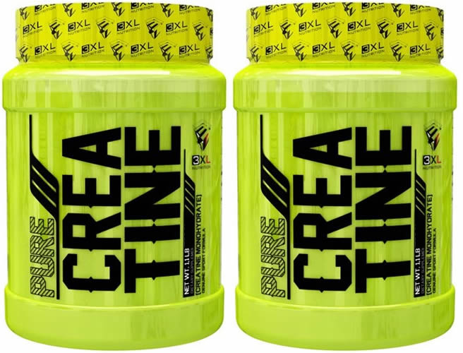 Pack 3XL Pure Creatina Monohydrate Formato Exclusivo 2 botes x 300 gr