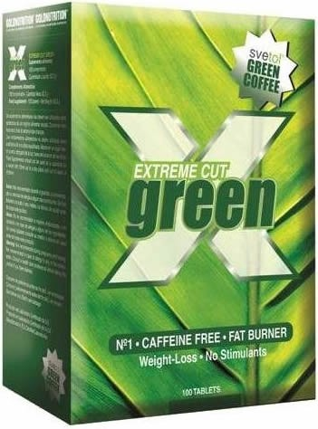 Gold Nutrition Extreme Cut Green 100 tabs
