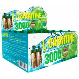 Gold Nutrition L-Carnitina 3000 mg 20 viales x 10 ml