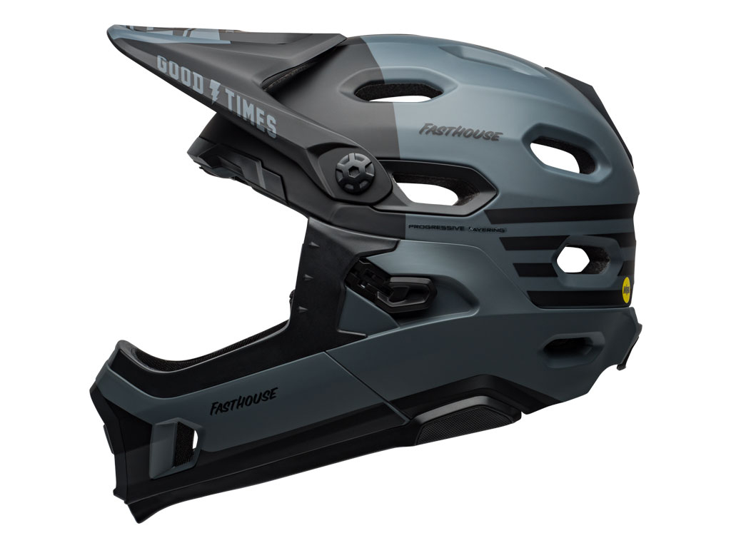 Bell Super Dh Mips 2019 Grey/black Fasthouse S