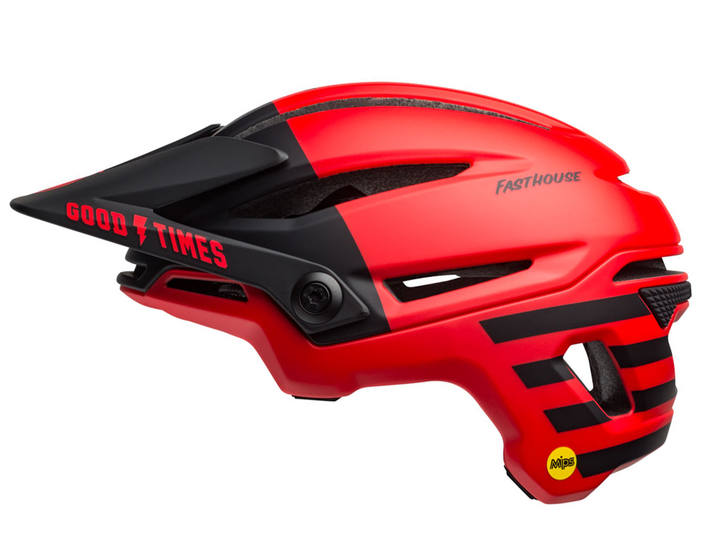 Bell Sixer Mips 2019 Matte Red/black Fasthouse S