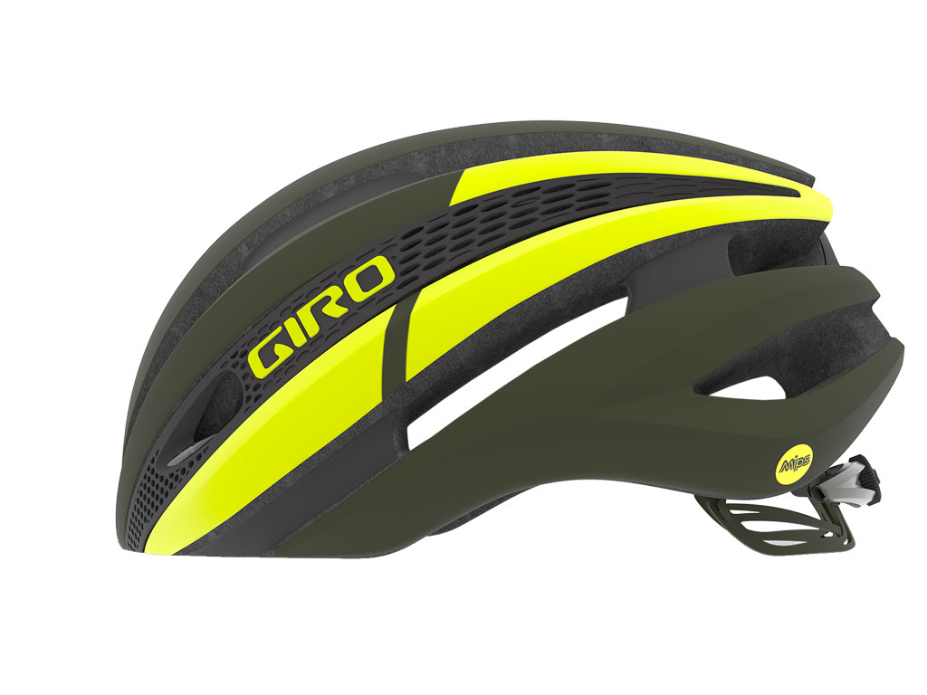 Giro Synthe Mips 2019 Matte Olive/citron S
