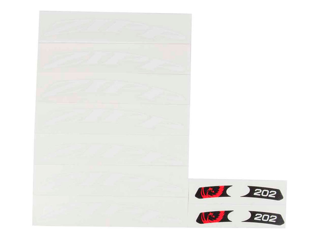 Zipp Rep Set Adhesivos 202 White ´14