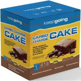 Keepgoing Carbo Charge Cake 400 gr
