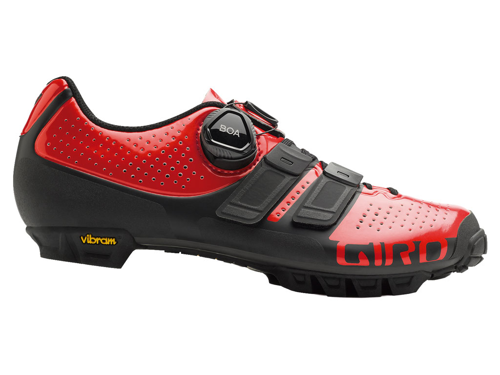 Giro Sica Techlace Woman 2019 Bright Red/black 37