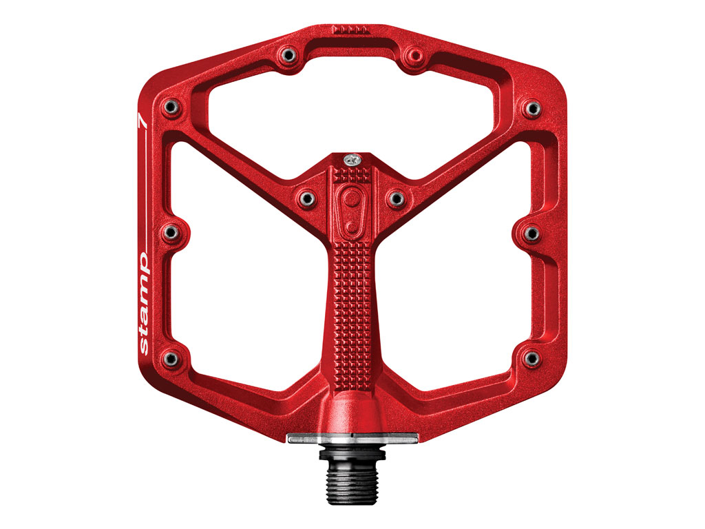 Crankbrothers Stamp 7 Large Red (incluye Pins Extra)
