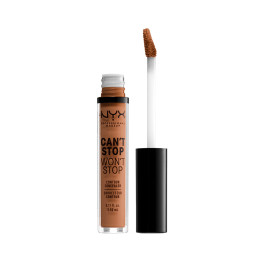 Nyx Can't Stop Won't Stop Contour Concealer Mahogany 35 Ml Mujer