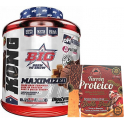 Pack BIG Kong Gainer 3 kg + Max Protein Turron Proteico Edicion Limitada Christmax Doble Pack 400 gr