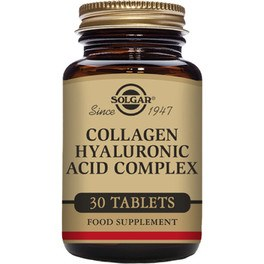 Solgar Collagen Hyaluronic Acid Complex 30 comp