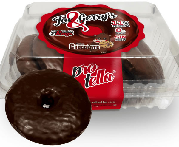 Protella Joe & Gerry's Zebra Donuts de Chocolate Blanco 5 uds - 230 gr