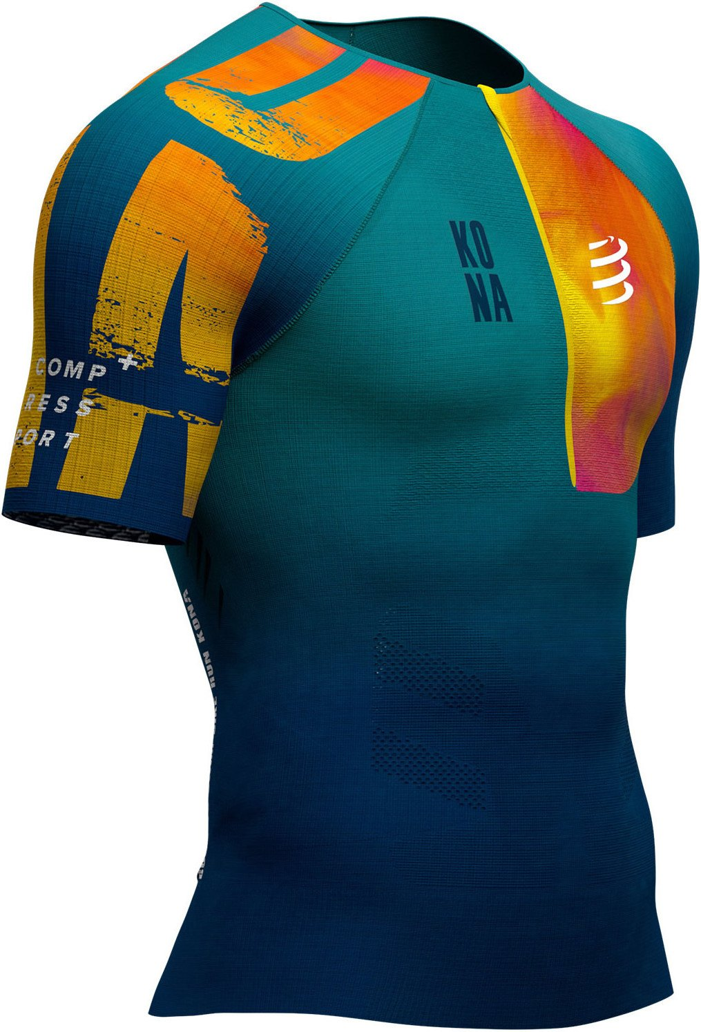 Compressport Camiseta Aero MC Postural Triatlón - Kona 2019