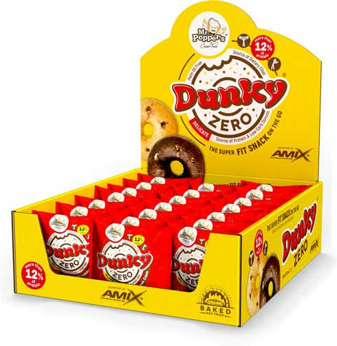 Amix Dunky Zero Mr Poppers 20 rosquillas x 70 gr