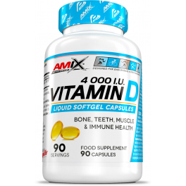 Amix Performance Vitamin D 4000 I.U. 90 caps