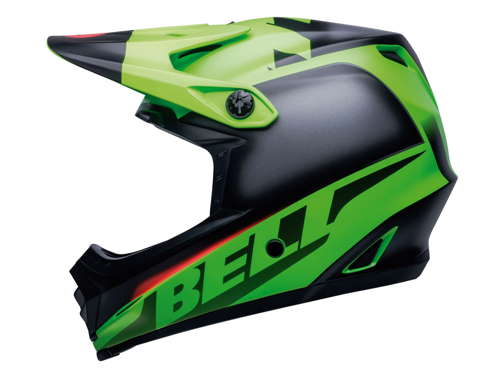 Bell Full-9 Fusion Mips 2020 Green/black/crimson L