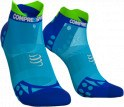 - Compressport Calcetines Pro Racing Socks V3.0 Ultra Light Run Low Azul Fluor  T1