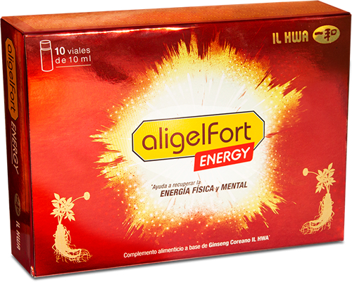 Tongil Aligel Fort Energy 10 viales x 10 ml