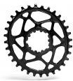 Absolute Black Plato Mtb Ovalado Sram Dm Gxp Black (6mm Offset)
