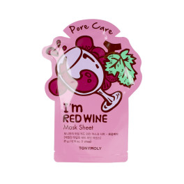 Tony Moly I'm Real Red Wine Face Mask Sheet 21 Gr Mujer