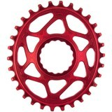 Absolute Black Plato Mtb Ovalado Raceface Dm Boost 148 Red (3mm Offset)