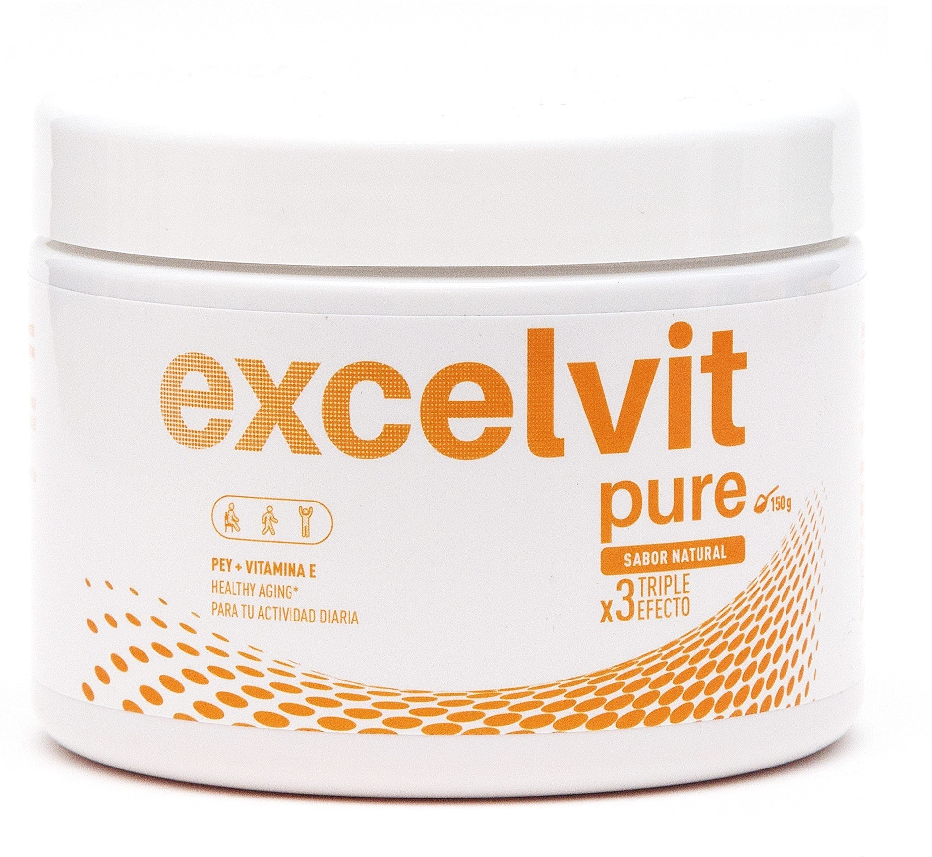 Excelvit Pure Sabor Natural 150 Gramos