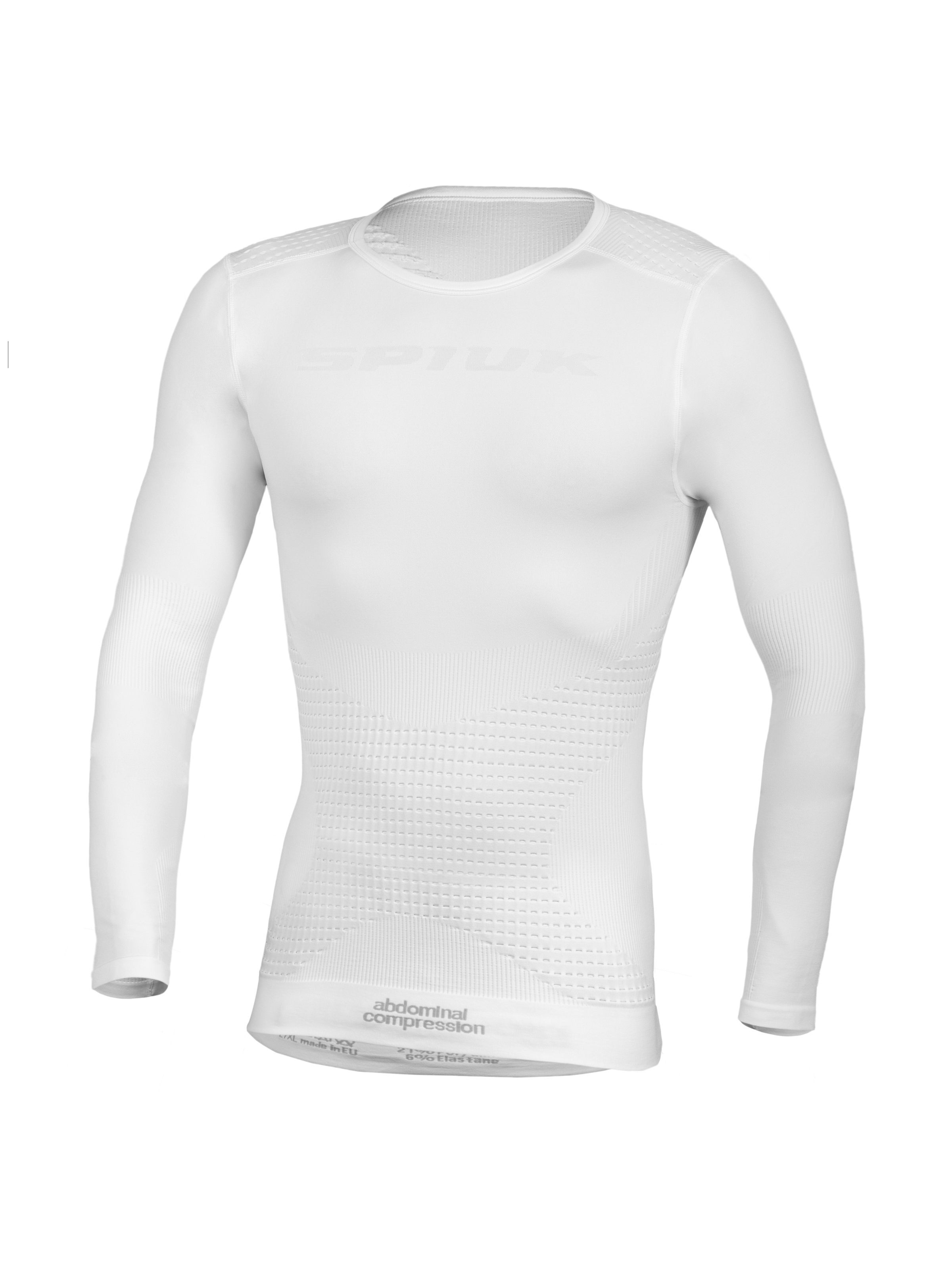 Spiuk Sportline Camiseta M/l Top Ten Unisex Blanco  L/xl