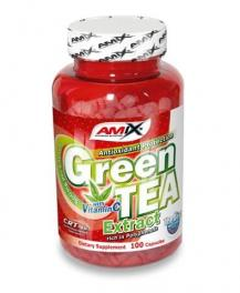Amix Green Tea Extract Con Vit.c 100 Caps.
