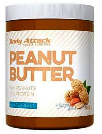 Body Attack Mantequilla De Cacahuete Sal Marina 1kg