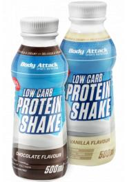 Body Attack Low Carb Protein Shake 500 Ml