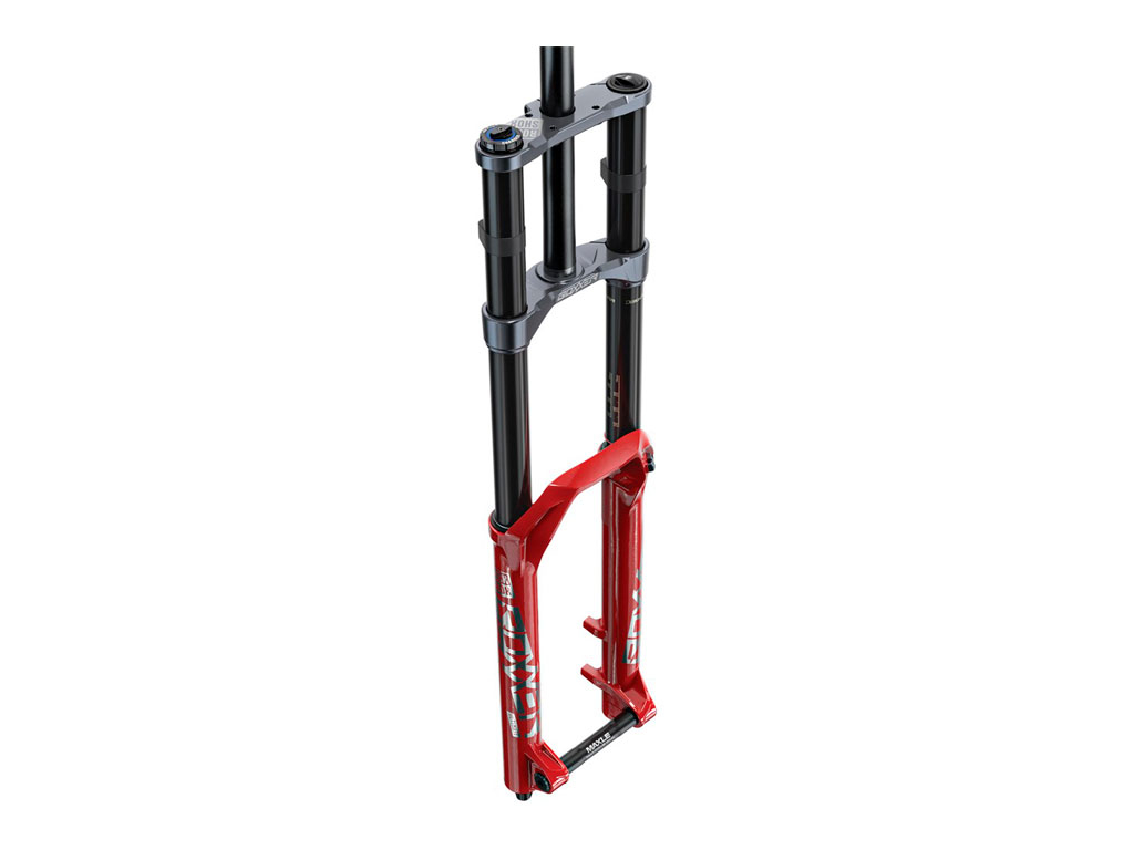 "Rockshox Boxxer Ultimate Charger2.1 Rc2 27.5"" Boost 20x110 200mm Red 46 Offset Debonair C2"