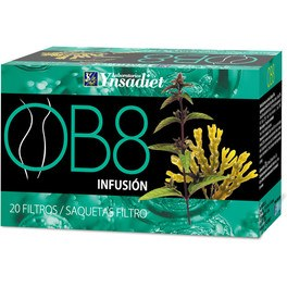 Ynsadiet Ob8 Infusion 20 Filtros