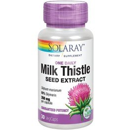 Solaray Milk Thistle 30 Vcaps