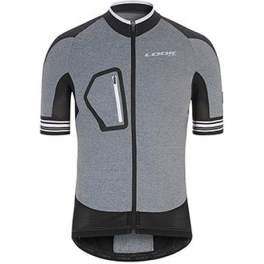 Look Maillot Ultra Negro/gris T-m
