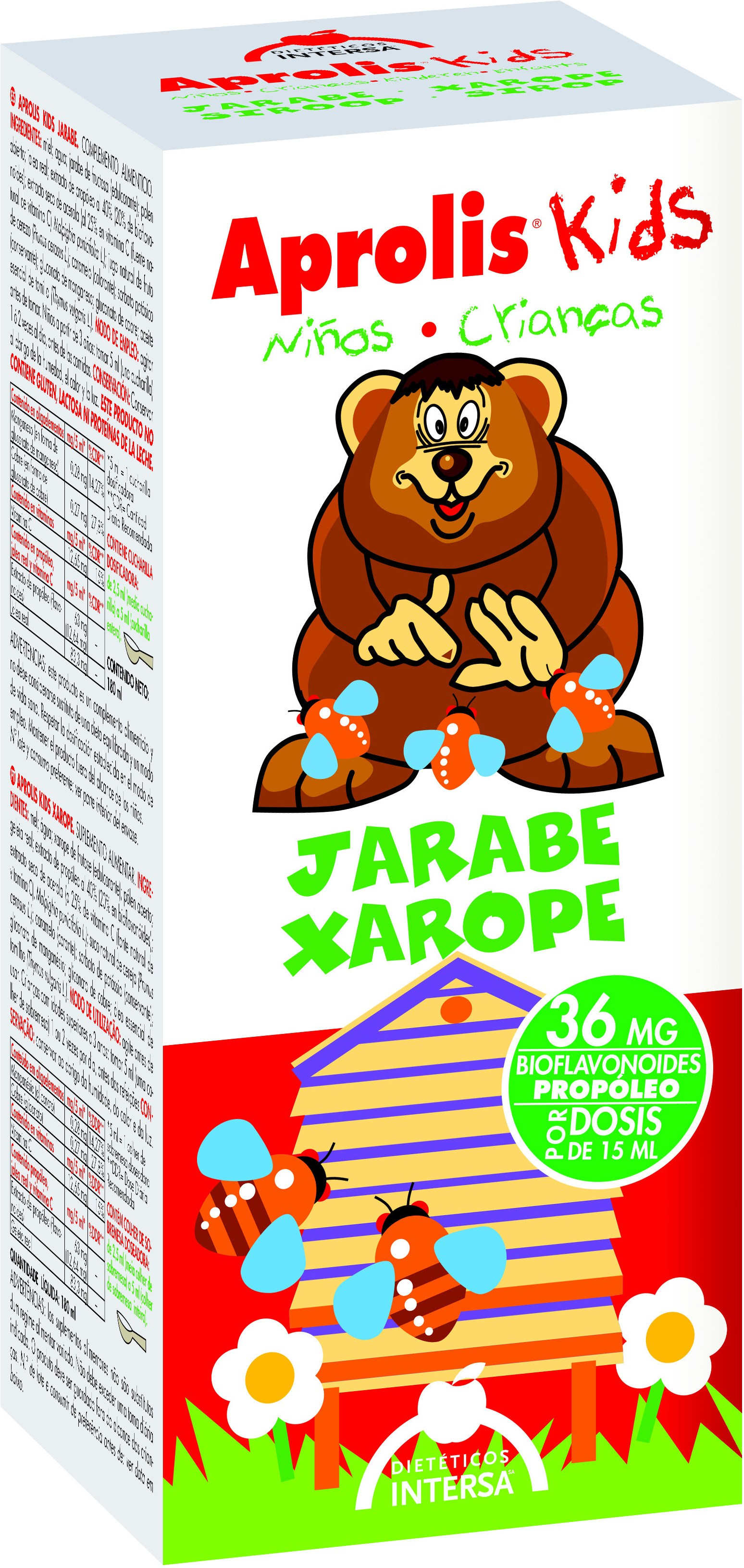 Intersa Aprolis Kids Jarabe Infantil 180 Ml