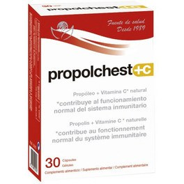 Bioserum Propolchest+c 30 Caps
