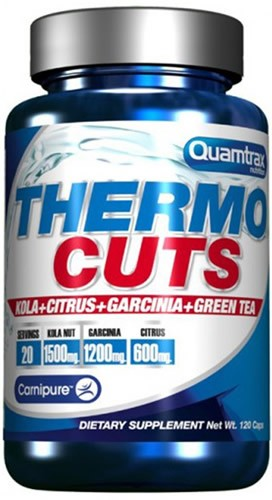 Quamtrax Thermo Cuts 120 caps