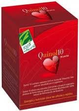 100% Natural Quinol 10 30 Perlas 100 Mg