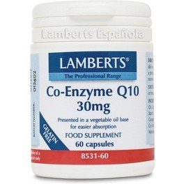 Lamberts Co Enzima Q10 30 Mg 60 Caps