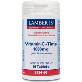 Lamberts Vitamina C-time 1000 Mg 60 Tabs
