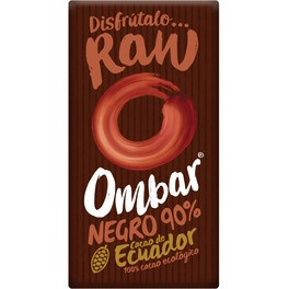 Ombar Chocolate Negro 90% Crudo Bio 35g