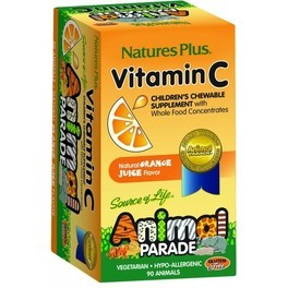 Natures Plus Animal Parade Vit C 90 Comp Mast