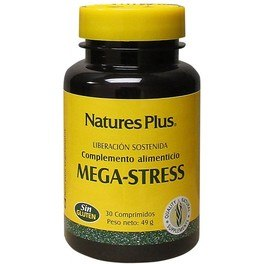 Natures Plus Mega Stress 30 Comp