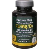 Natures Plus Calcio Magnesio D3 Con Vitamina K2 30 Comp