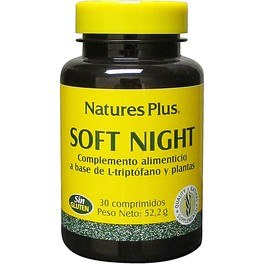 Natures Plus Soft Night 30 Comp