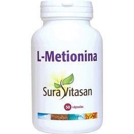 Sura Vitasan L Metionina 500 Mg 50 Caps