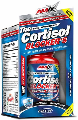 Amix Cortisol Blocker's 60 caps