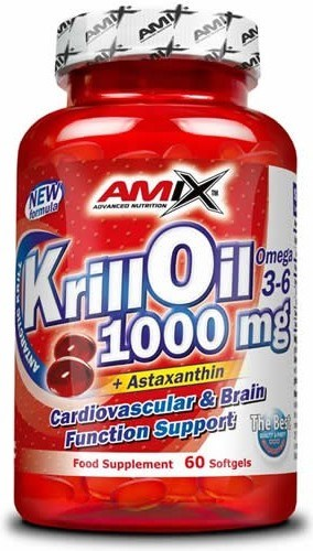 Amix Krill Oil 1000 mg 60 caps
