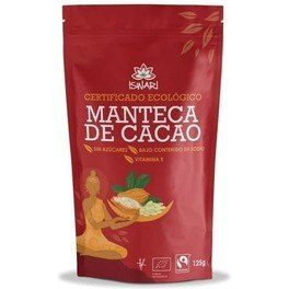Iswari Manteca De Cacao Bio Fair Trade 125g
