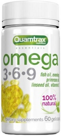 Quamtrax Essentials Omega 3-6-9 500 mg 60 caps
