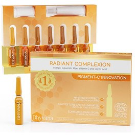 Dhyvana Beauty Bosster Radiant Complexion 7 Ampollas