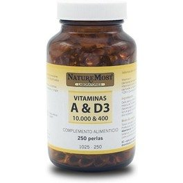 Naturemost Vitamina D3 5.000 U.i. 125 Mcg 120 Perlas